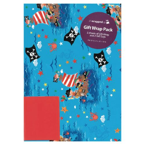 Regent Packaged Wrap Pirates (Pack of 12) F372