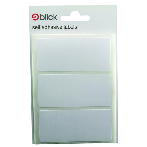 Blick White Label Bag 34x75mm (Pack of 420) RS003755