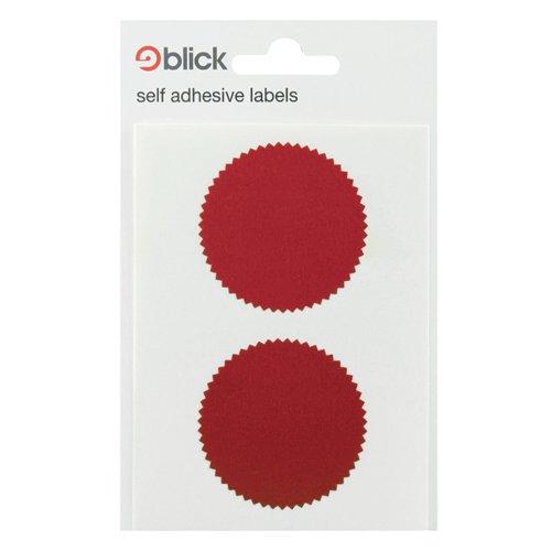 Blick Company Seal 50mm Diameter Red 8 Per Dispenser (Pack of 160) RS014652