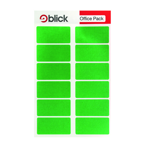 Blick Labels in Office Packs 25mmx50mm Green (Pack of 320) RS019558
