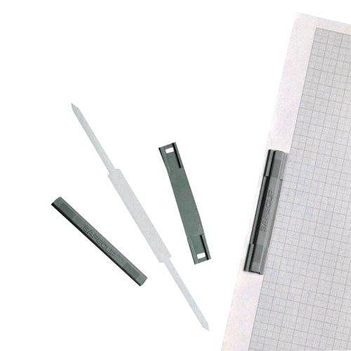 Rotadex Safe Clip 8cm Plastic (Pack of 50) 63636