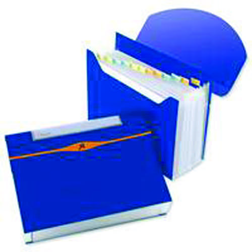 Rexel Optima Expander 13 Part Blue 2102