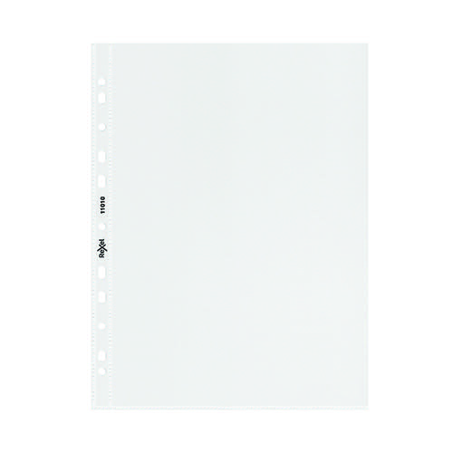 Rexel Superfine Pocket Top Opening A5 Clear (Pack of 20) 11010