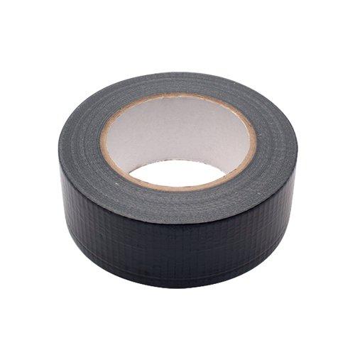 Black Waterproof Cloth Tape 48mmx50m RY07584