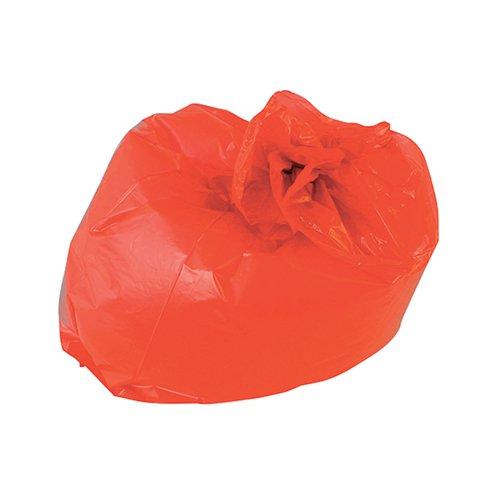 2Work Medium Duty Refuse Sack Red (Pack of 200) RY15541