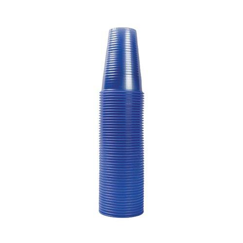MyCafe Plastic Cups 7oz Blue Pk1000