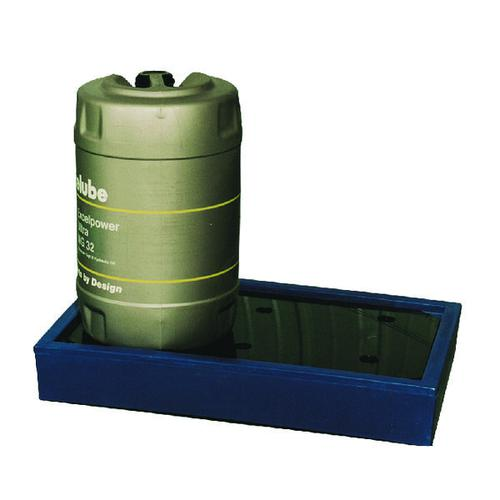 Can Tray Blue 2x25 Litre (Moulded Plastic Construction for 2 x 25 Litre Drums) 312732