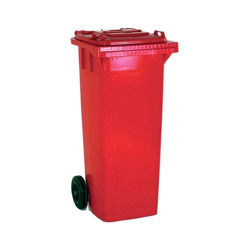 Wheelie Bin 120 Litre Red (W480 x D555 x H930mm) 331115