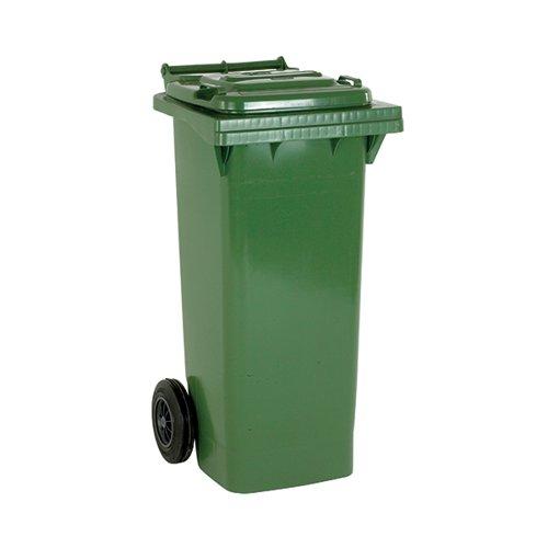Wheelie Bin 140 Litre Green (W480 x D555 x H1070mm) 331150