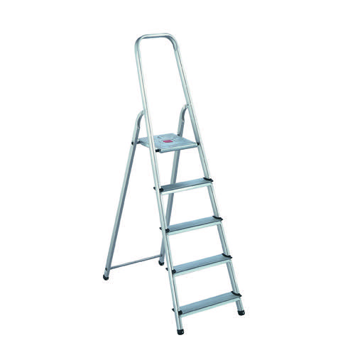 Aluminium Step Ladder 5 Step (Platform sits 980mm Above the Floor) 405007