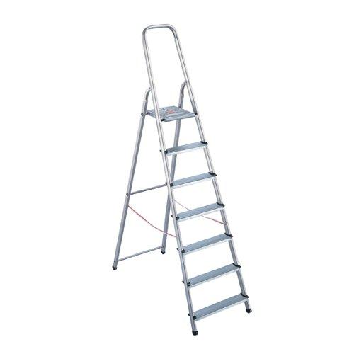 Aluminium Step Ladder 8 Step (Platform sits 1620mm Above the Floor) 4050101