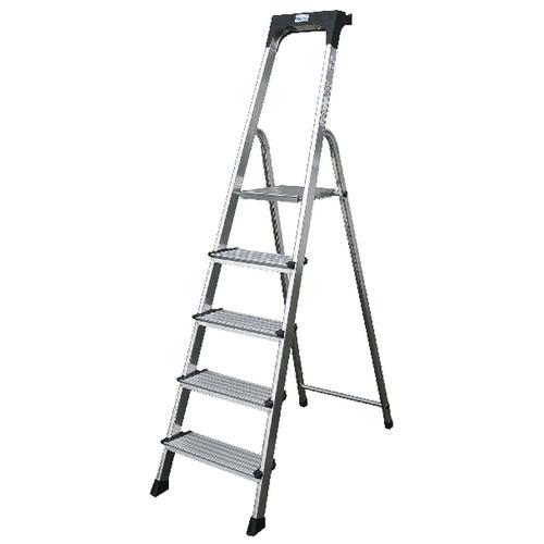 Image for Comfort Aluminium Steps 7 Tread Silver 360998
