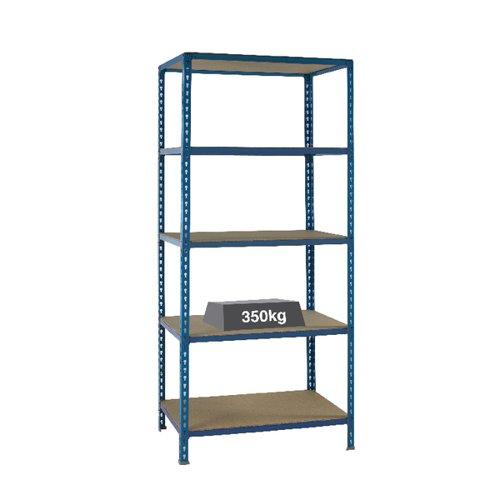 Medium Duty Bays Shelf Size 1200x600mm Blue 379626
