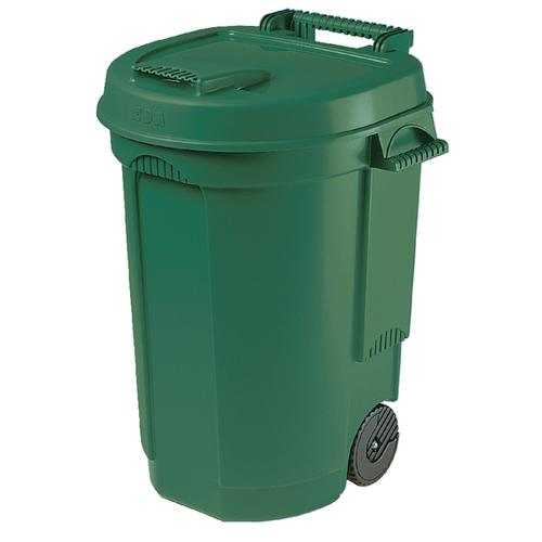 Mobile Dustbin 110 Litre Green 383420
