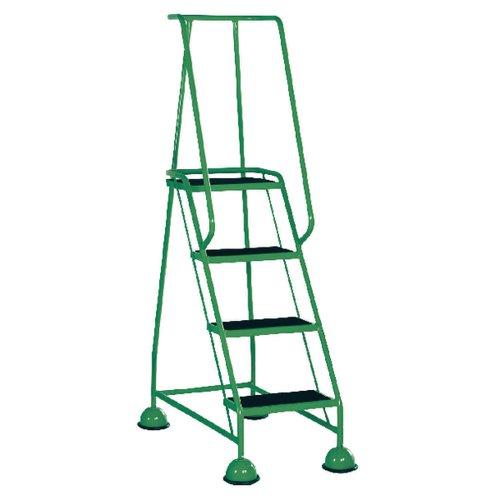 Green 4 Tread Step Ladder (Load capacity: 125kg) 385140