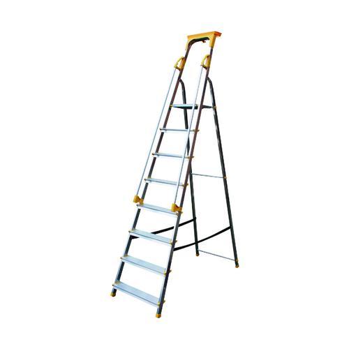 Aluminium Safety Platform Steps 8 Tread 405016