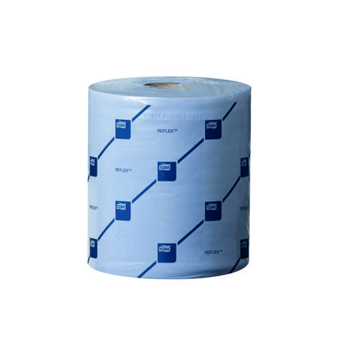 Tork Reflex M4 Centrefeed Tissue 2-Ply 150m Blue (Pack of 6) 473263