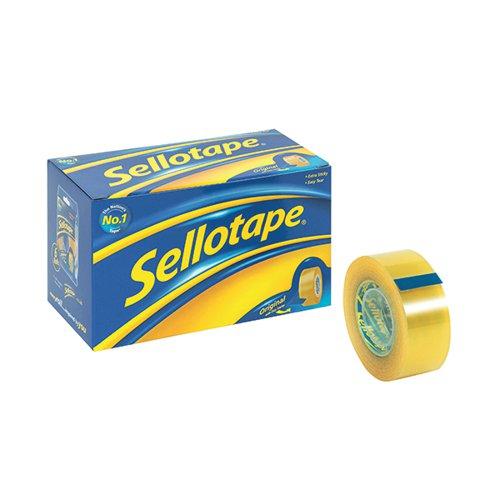 Sellotape Golden Tape 24mmx33m (Pack 6)