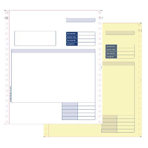 Sage Compatible Invoice 2-Pt Pk1000 SE02