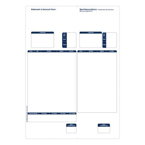 Sage Compat 1Pt Statmt/Remit Pk500 SE85S