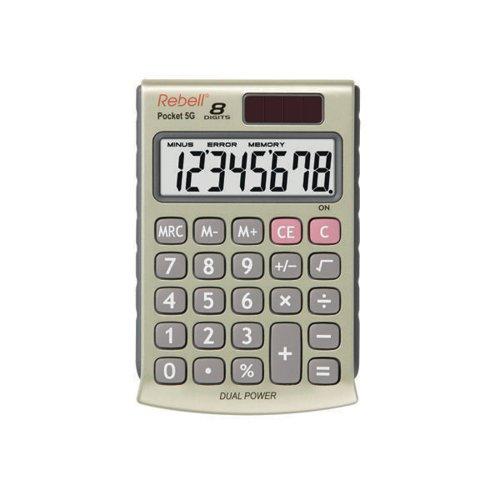 Rebell 5G Pocket Calculator RE-POCKET 5G - Paper Supplies