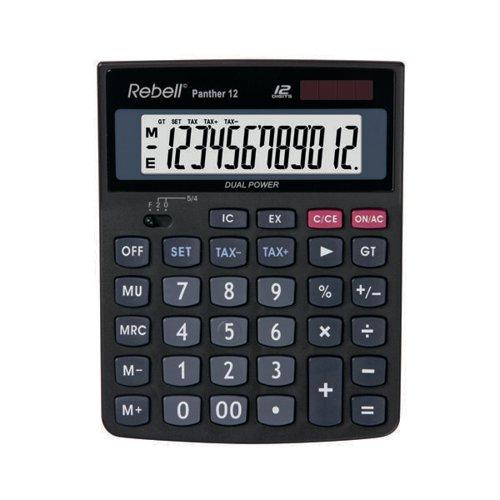 Rebell Panther 12 BX Desktop Calculator RE-PANTHER 12 BX