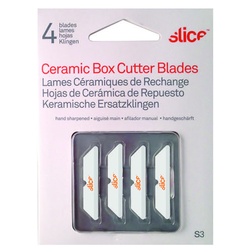 Slice Blades for Box Cutters 34mm Pack of 4 10404