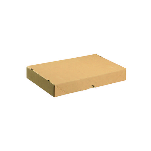 Carton With Lid 305x215x50mm Brown (Pack of 10) 144666114