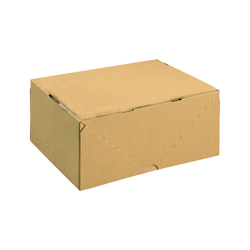 Carton With Lid 305x215x150mm Brown (Pack of 10) 144668114