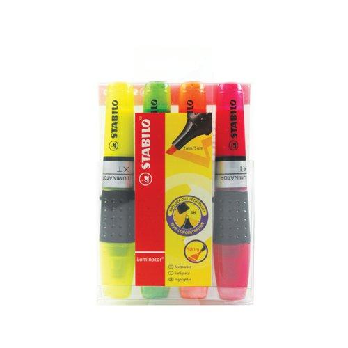 Stabilo Luminator Highlighter Assorted 71/4