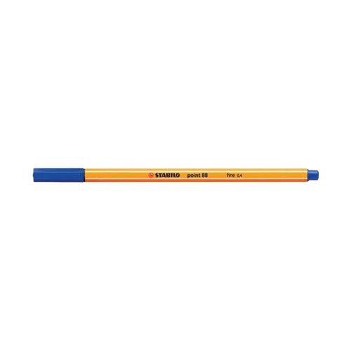 Stabilo Point 88 Fineliner Pen Blue 88/41