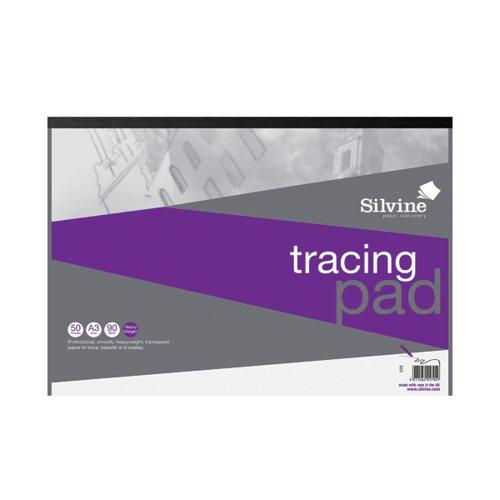 Silvine Professional Tracing Pad 50 Sheets A3 A3TPR