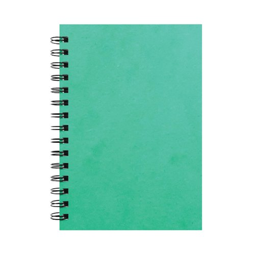 Silvine Luxpad Hardback Wirebound Notebook 200 Pages A5 (Pack of 6) SPA5