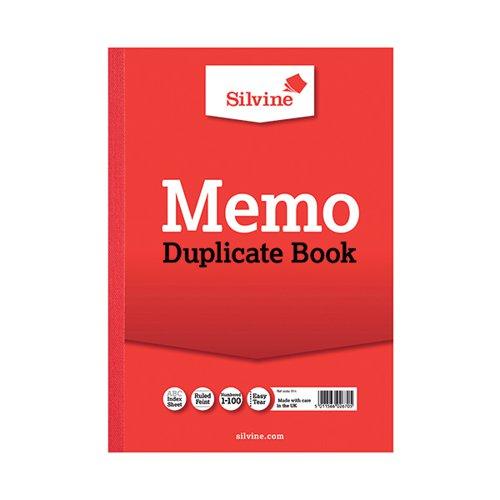 Silvine Duplicate Memo Book A4 (Pack of 6) 614-T