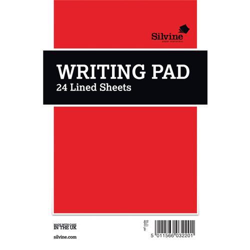 Silvine Duke Writing Pad Ruled 24 Sheets (Pack of 36) 1716