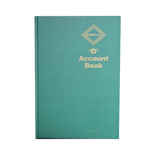 Simplex D Accounts Book (52 pages) Ref:D