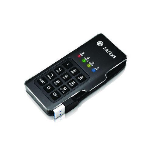 SafeXS Firebolt Portable SSD with Keypad Encryption 30GB SXSFB-30GB