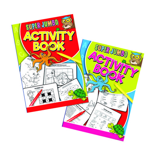 Artbox Super Jumbo Activity Book (Pack of 6) 4052