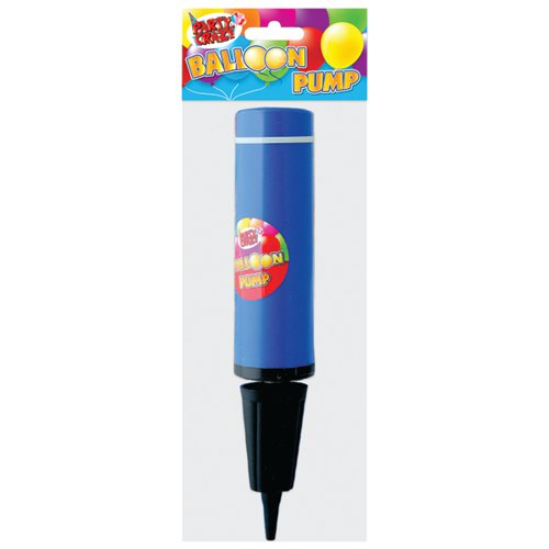 Balloon Pump Pink and Blue (Pack of 12) 5709
