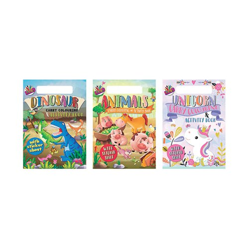 Artbox A4 Carry Colouring & Activity Pad (Pack of 12) 6891