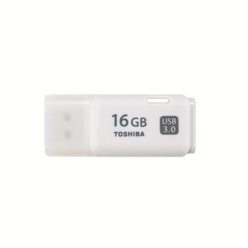 Toshiba TransMemory U301 USB Flash Drive 16GB USB 3.0 White THN-U301W0160E4