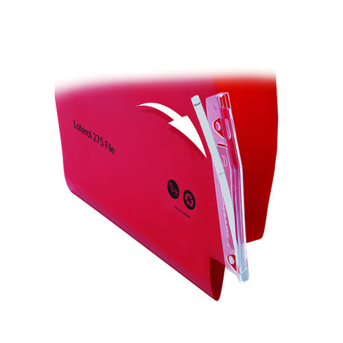 Twinlock Crystalfile Lateral File Tabs Clear BX50