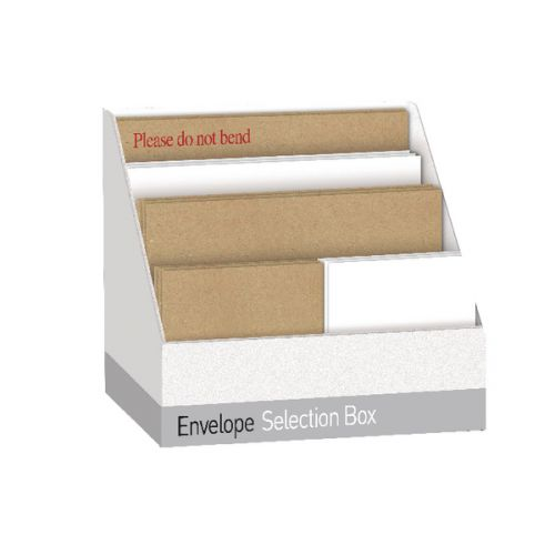 WHTE/MANILLA ASSORTED SIZE ENVELOPES BOX