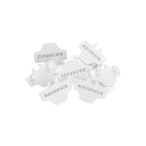 Versapak T2 Numbered Seals White Pk500
