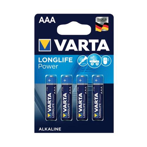 Varta AAA High Energy Battery Alkaline (Pack of 4) 4903620414