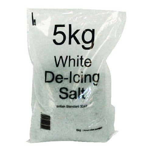 White Winter 5kg Bag De-Icing Salt (Pack of 15) 188150