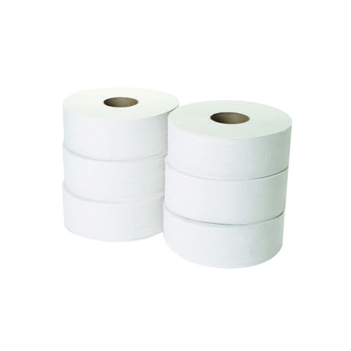 Image for 2-Ply Jumbo Toilet Roll 300 Metres (Pack of 6) JWH330