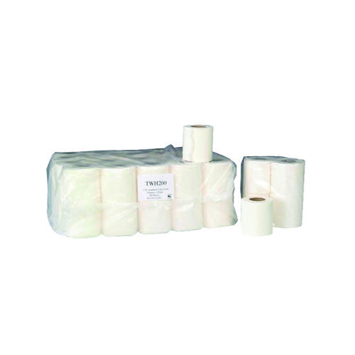 2 Ply White 200 Sheet Toilet Roll (Pack of 36) TWH200T