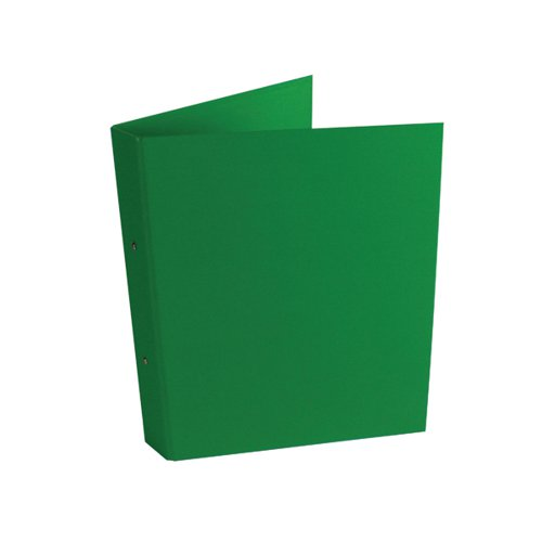 2-Ring Ring Binder A4 25mm Green (Pack of 10) WX02008