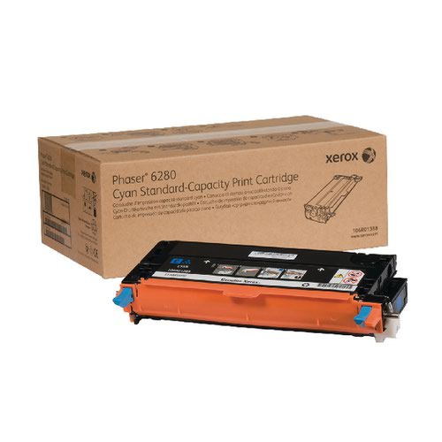 Xerox Phaser 6280 Cyan Toner Cartridge 106R01388